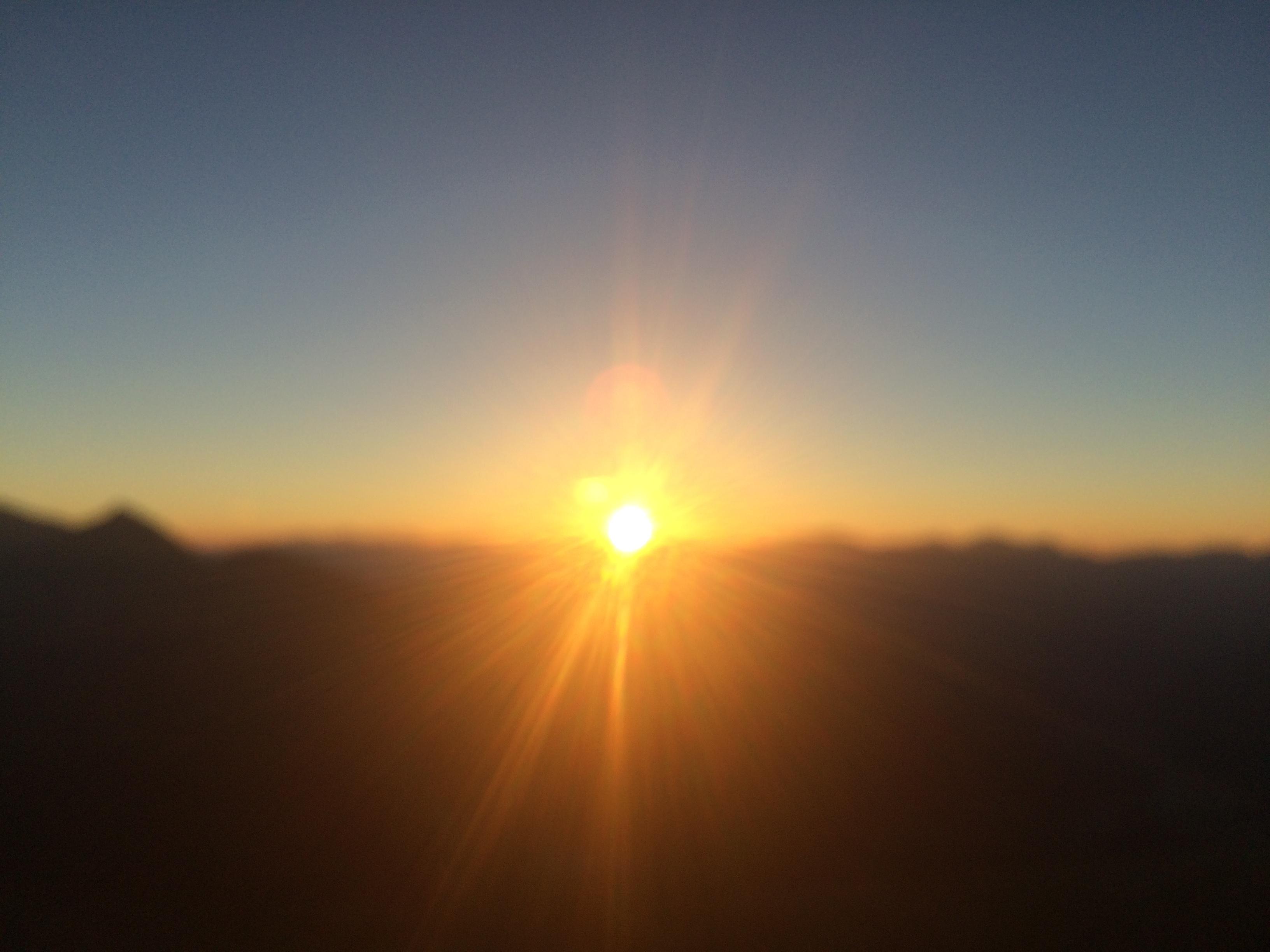 Coucher de soleil depuis Pic Blanc  - Eric Pares (france)
