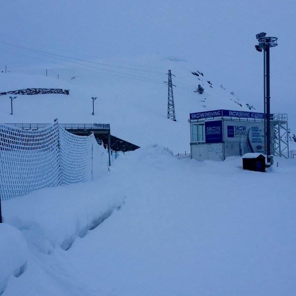 Cap del port d'Envalira - Circuit de gel