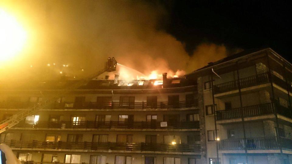 Incendi a l'edifici Tiffany's a la Massana - Cristiano Pinheiro
