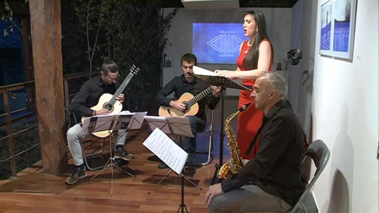 Jonaina Salvadó, Lluís Casahuga, David Font i Efrem Roca actuen al ComArtPedrosa