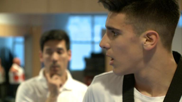 Biel Ruiz supera una ronda al Mundial júnior de taekwondo