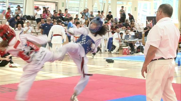 Alberola es penja l'únic or nacional a la Copa d'Andorra infantil-cadet de taekwondo