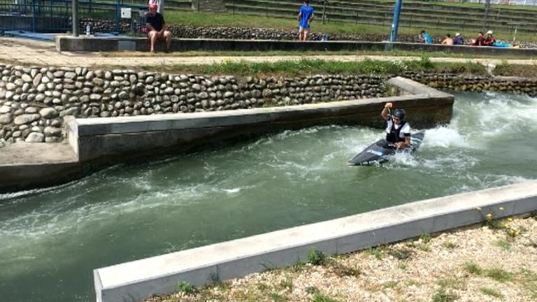 Dòria i Pellicer ja entrenen al canal de Bratislava per a l'Europeu sub-23
