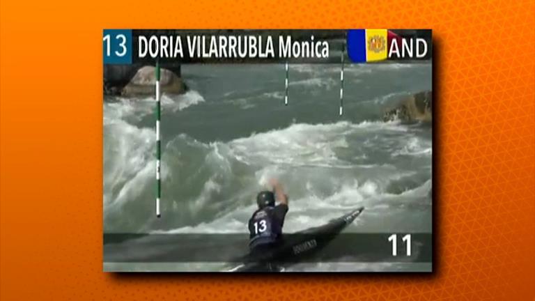 Mònica Doria es classifica per a la gran final de canoa a l'Europeu sub 23