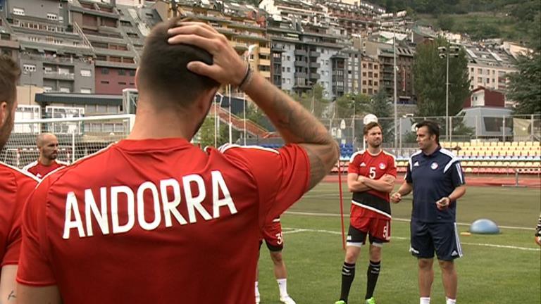 Andorra jugarà contra Emirats Àrabs pensant en Letònia