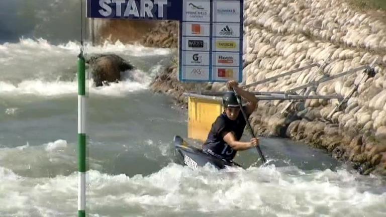 Doria acaba novena en canoa a l'Europeu sub 23 d'Eslovàquia