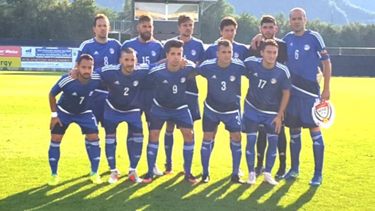 Andorra ha empatat a zero gols amb Emirats Àrabs en el dar