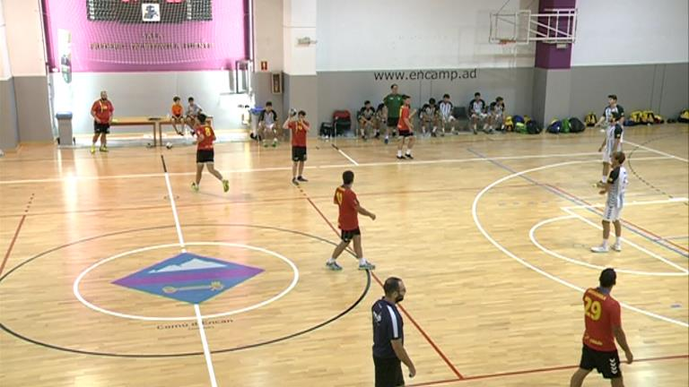 Es disputa la Copa d'Andorra d'Handbol amb la participació de la selecció