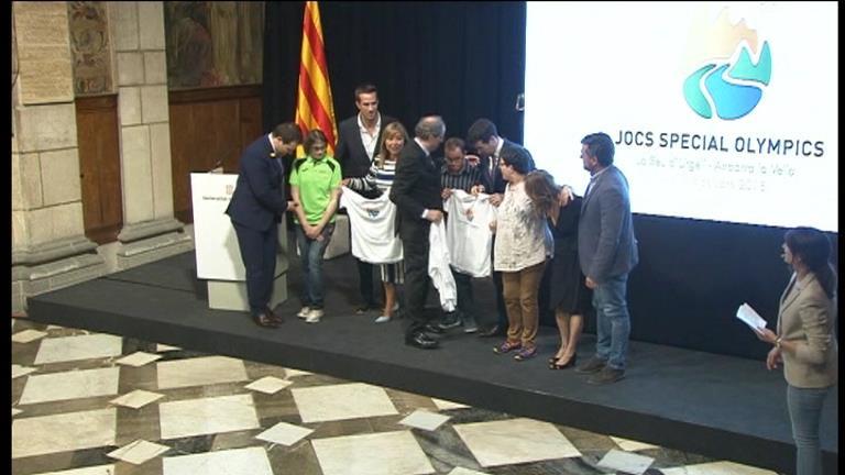 La torxa dels Special Olympics arribarà a Andorra la Vella el 4 d'octubre