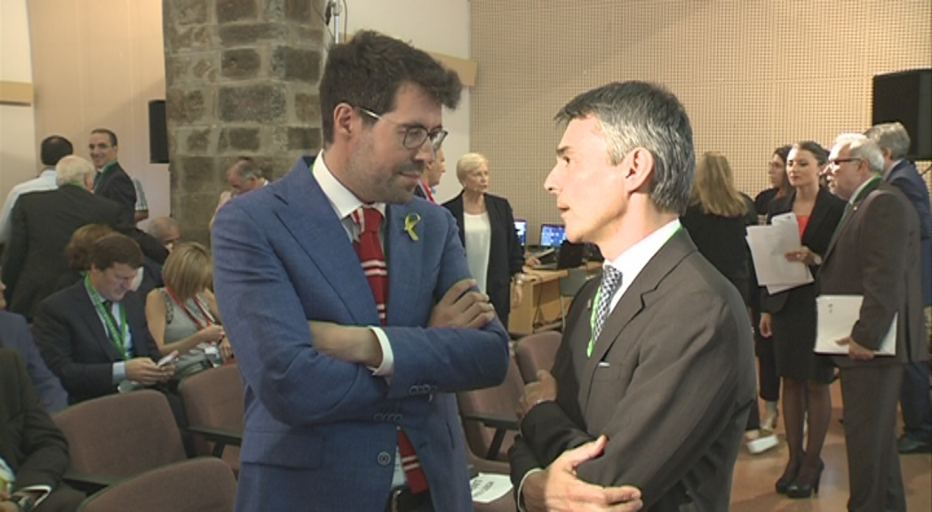 """Albert Batalla qualifica de """"ficció"""" que la Cambra projecti un aeroport a Andorra"""