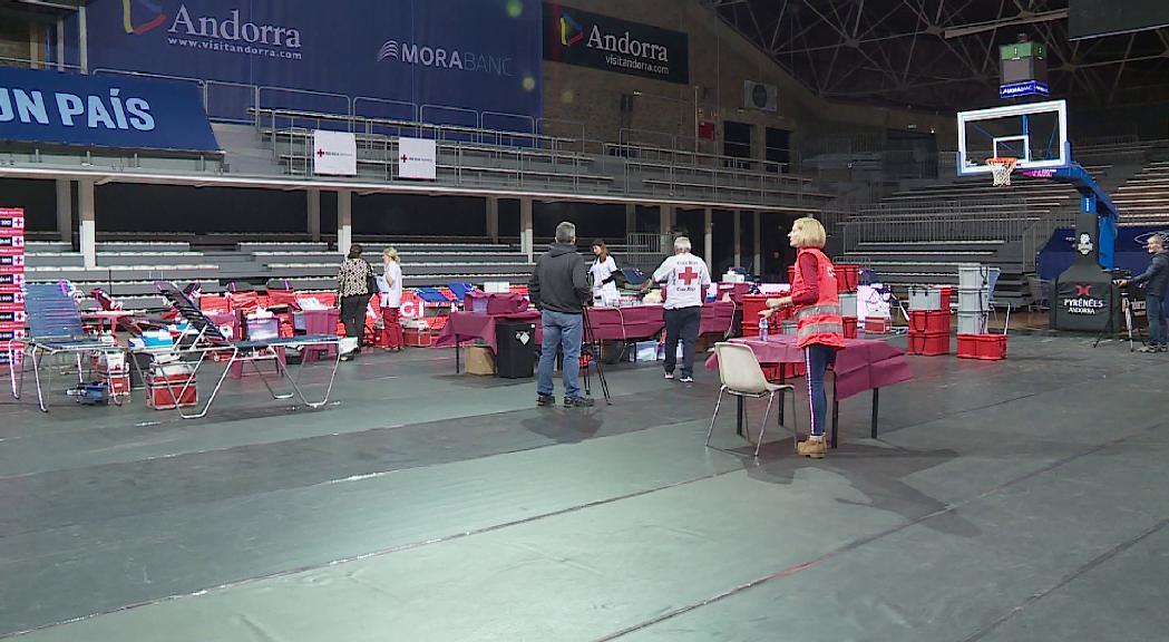La segona campanya de recollida de sang de la Creu Roja de l'