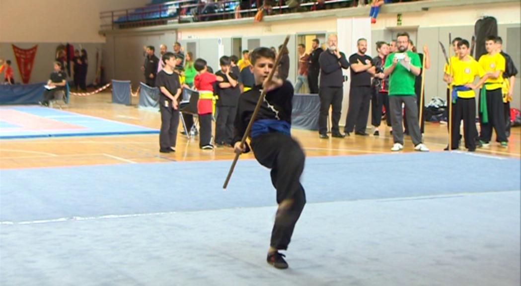 El 14è Campionat de Kungfu Parròquia d'Encamp reuneix 115 competidors