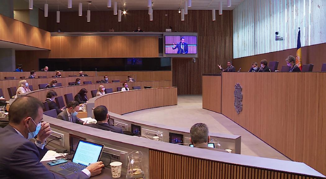 17 propostes d'acord dels 5 grups parlamentaris, a debat aquest divendres al Consell General