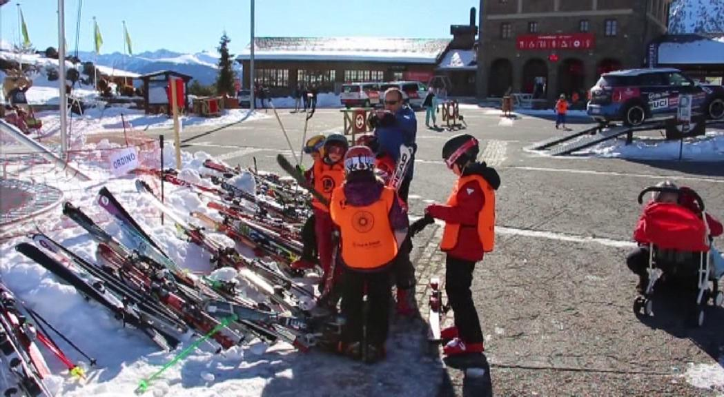 El 18 de gener s'inicia l'esquí escolar amb mesures