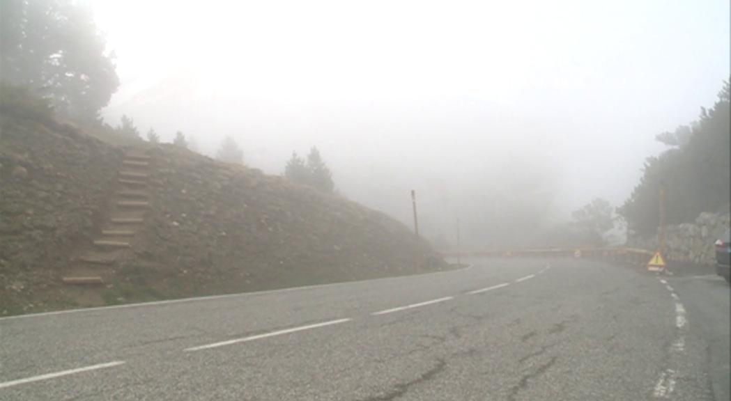 Uns 280.000 euros per a la segona fase de les obres de manteniment de la carretera de Montaup