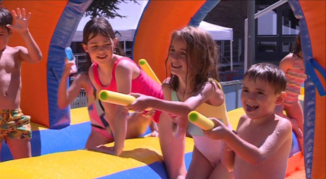 4.000 infants ja han fet ús de l'aquaparc del Comunal