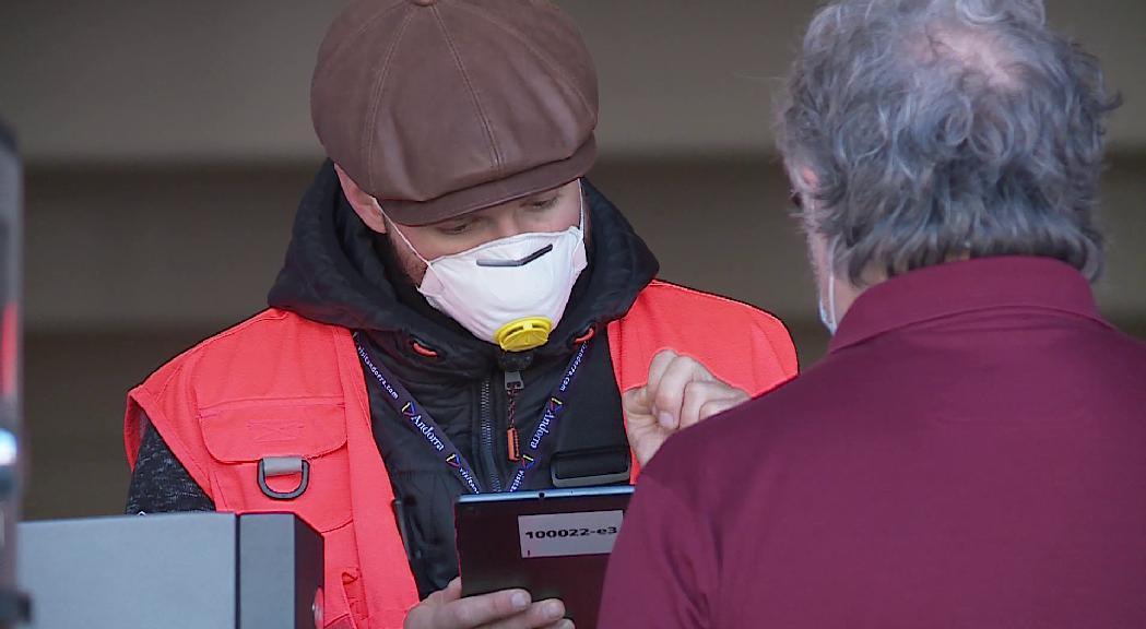 Comencen els tests als voluntaris a Escaldes-Engordany