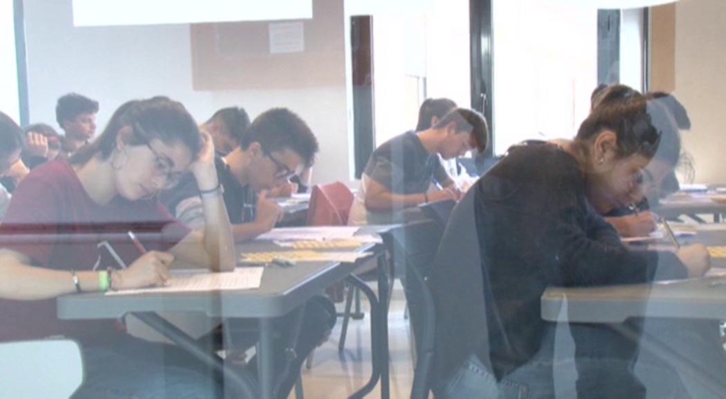 Per primer cop una cinquantena d'estudiants de l'escola andorrana