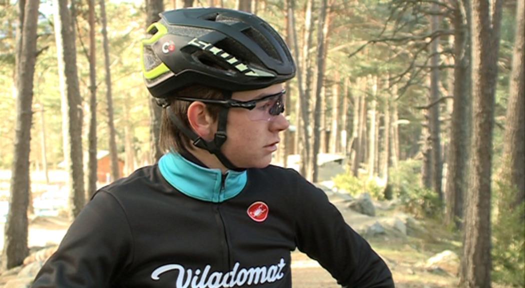 Bona estrena de Kilian Folguera a la categoria sub-23. El ciclist