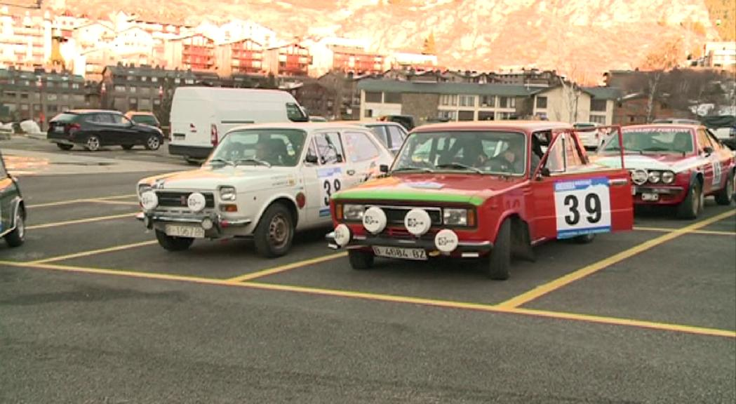 65 vehicles inscrits a l'Andorra Winter Rally