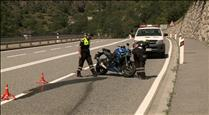 L'ACA atribueix l'increment d'accidents de motos a un major ús d'aquest vehicle