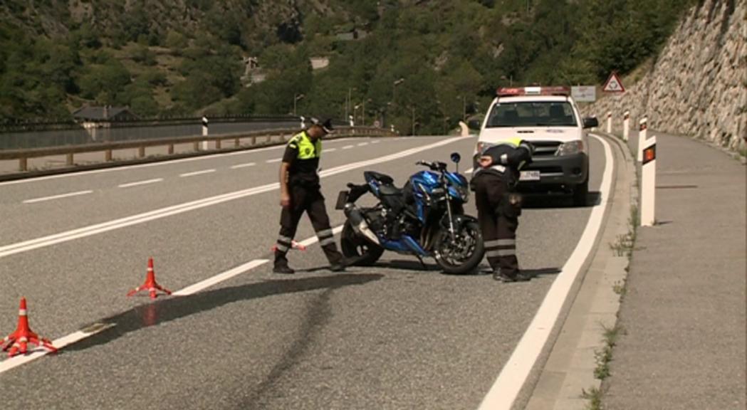 L'ACA atribueix l'increment d'accidents de motos a un major ús d'aquest vehicle