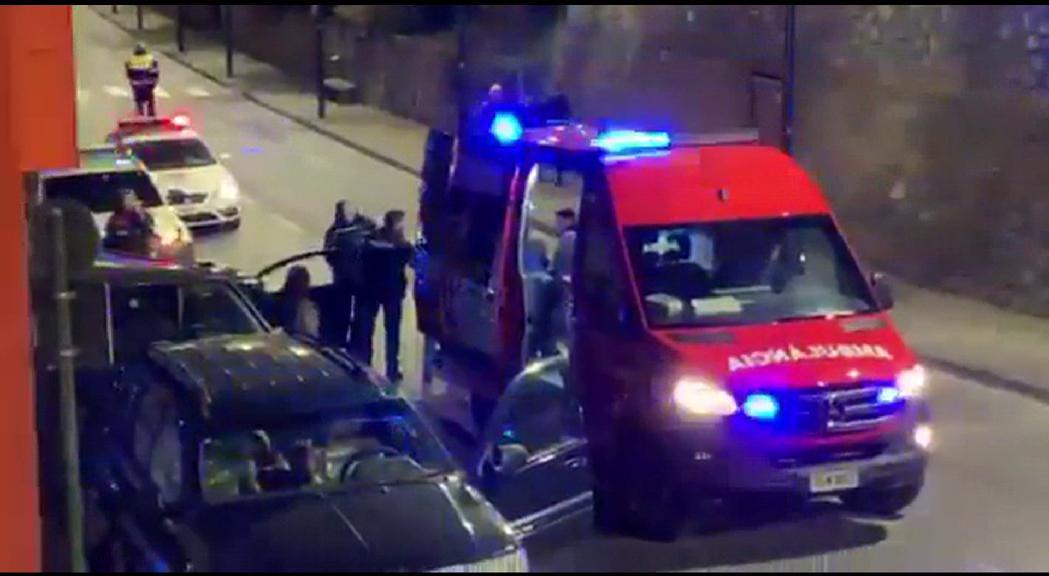 Un accident a Santa Coloma i un altre a Canillo amb un detingut per positiu en alcoholèmia