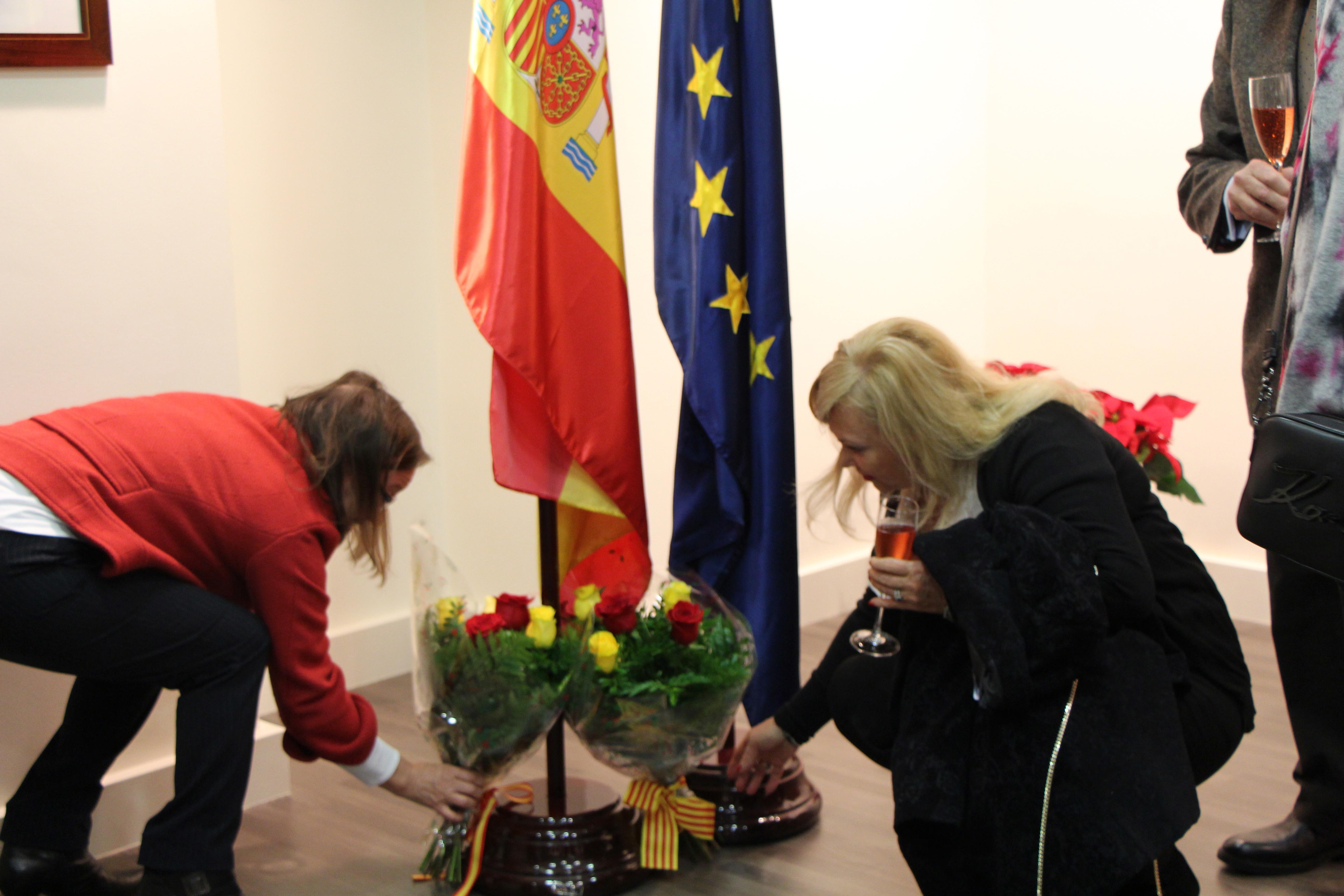 Acte per commemorar la constitució espanyola a l'ambaixada