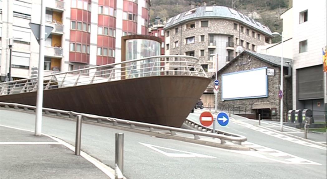 S'adjudica l'ampliació de la plaça de les Pubilles d'Escaldes-Engordany per 266.000 euros