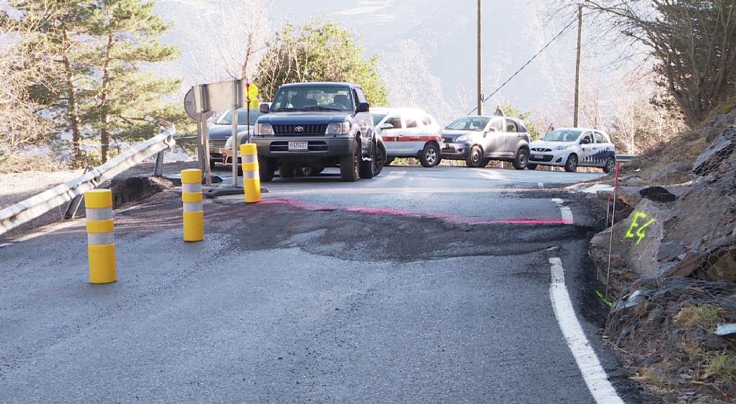Adjudicades les obres d'estabilització de la carretera 140 a Fontaneda per 1,3 milions d'euros