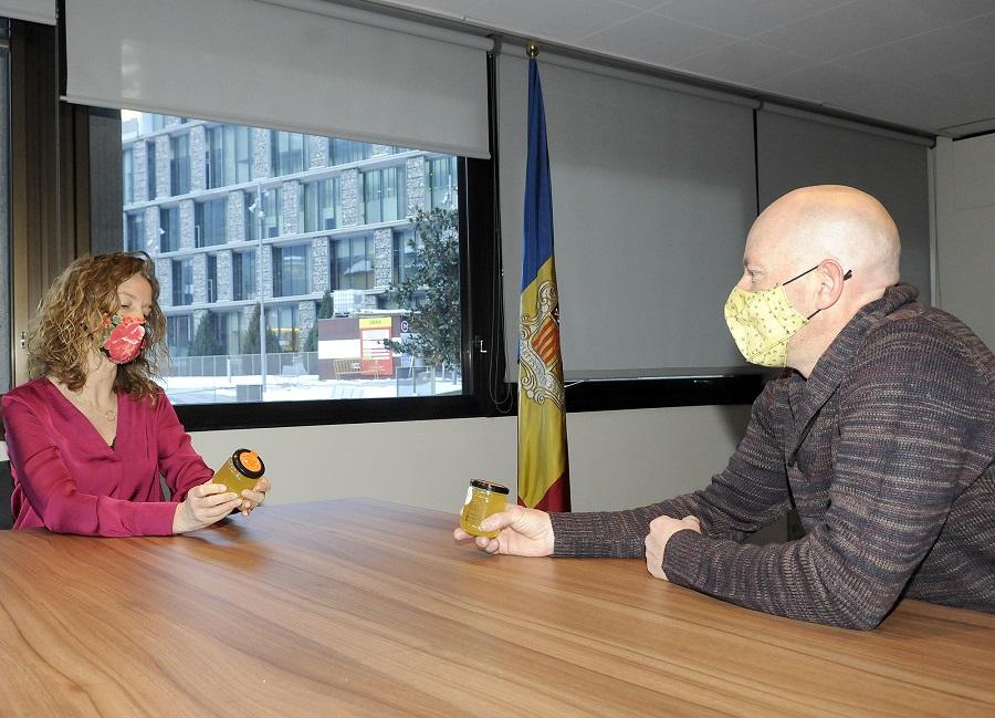 La ministra de Medi Ambient, Agricultura i Sostenibilitat, S&iacu