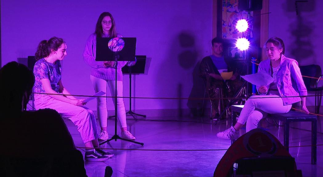"""Aitana Gálvez, guanyadora del """"Combat de dramaturgs"""""""