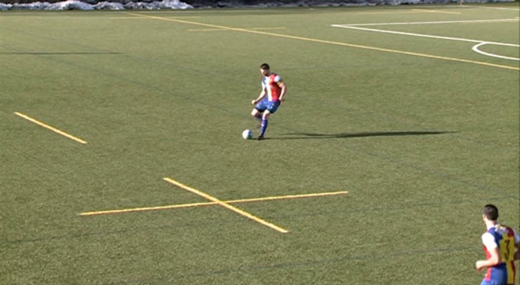 Alex Sánchez, nova baixa al FC Andorra