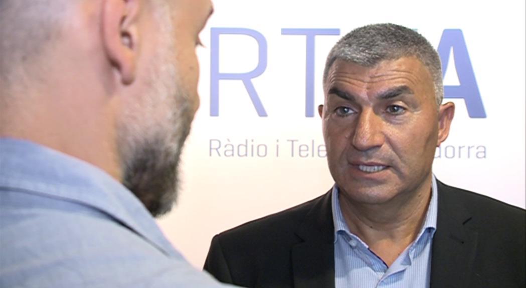 Álvarez nega ser un candidat de continuïtat i aposta per donar més transparència a la FAF