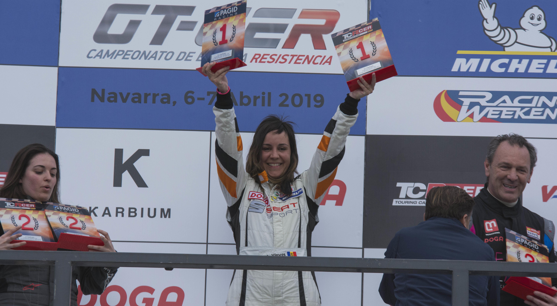 Amàlia Vinyes guanya la primera prova del Campionat d'Espanya de resistència