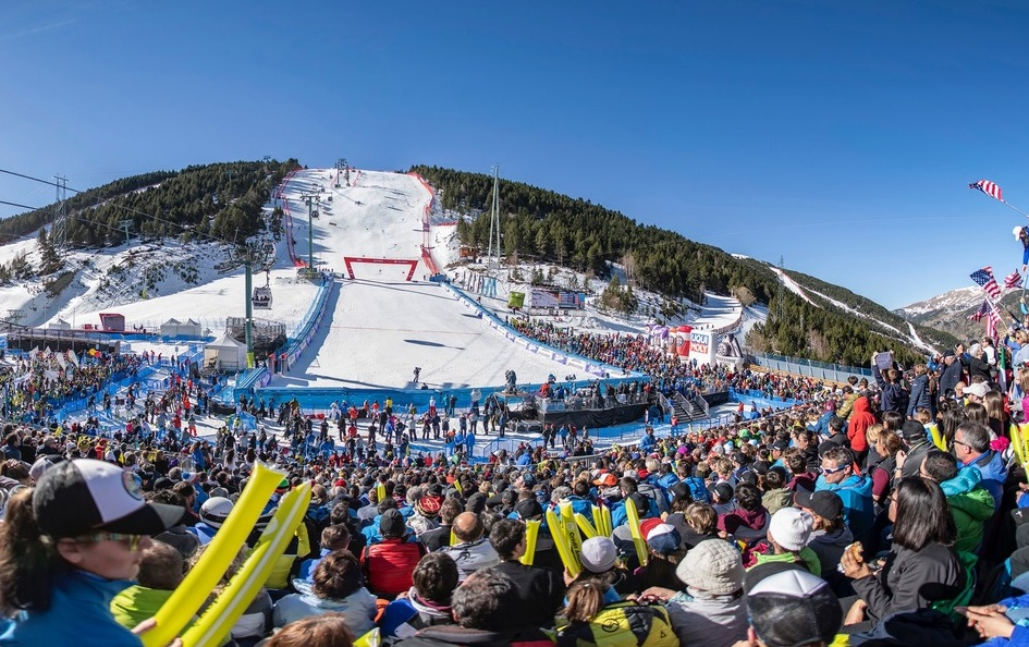 Andorra acollirà les finals de la Copa del Món d'esquí alpí 2023