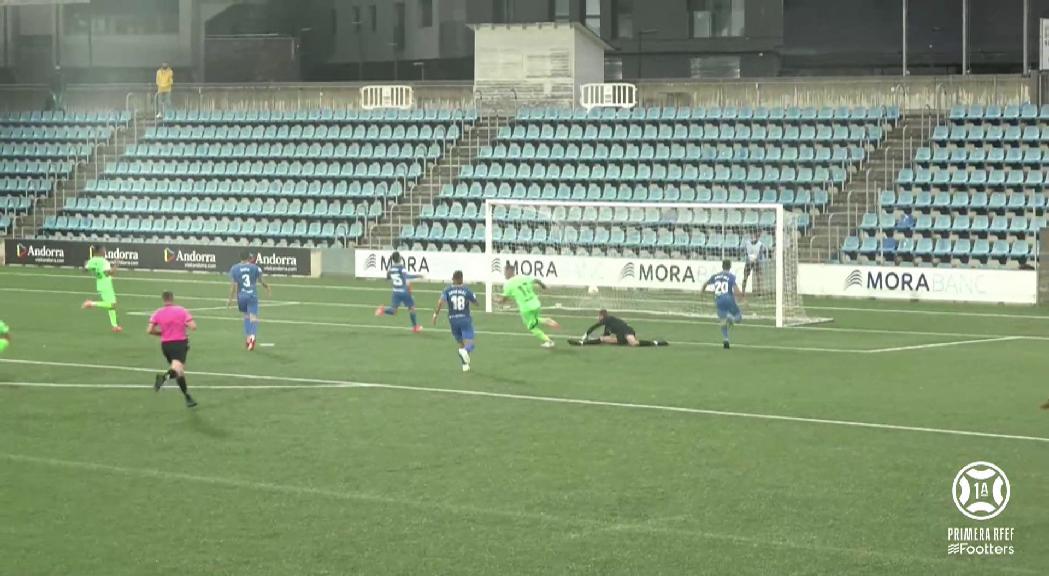 L'Andorra deixa escapar dos punts davant l'Atlètic de Balears (2-2)