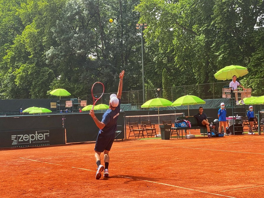 Andorra, amb dificultats en la primera eliminatòria de la Copa Davis