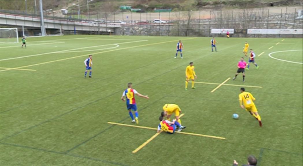 L'Andorra empata a casa i la promoció haurà d'esperar