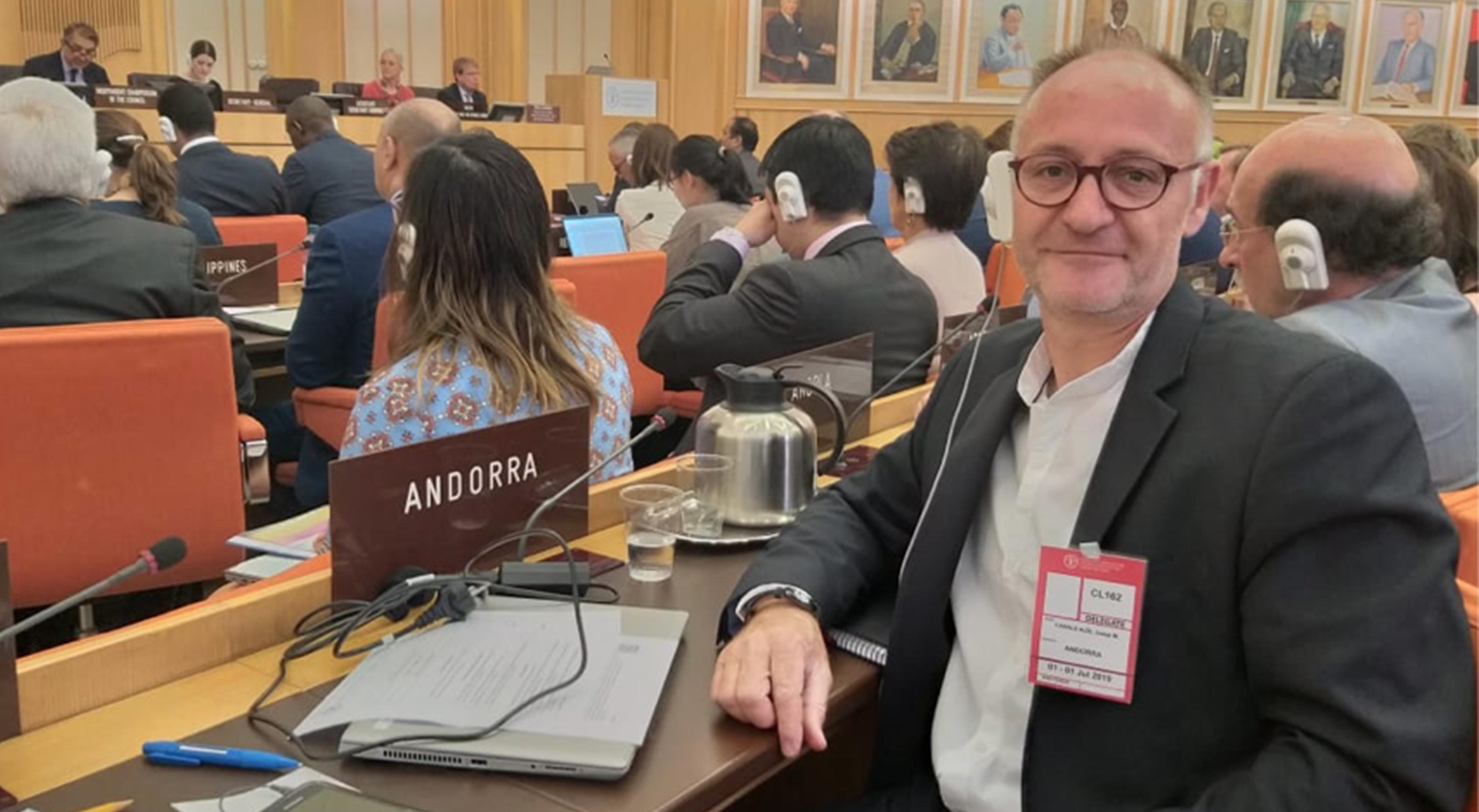 Josep Maria Casals, director d'Agricultura, ha participat en