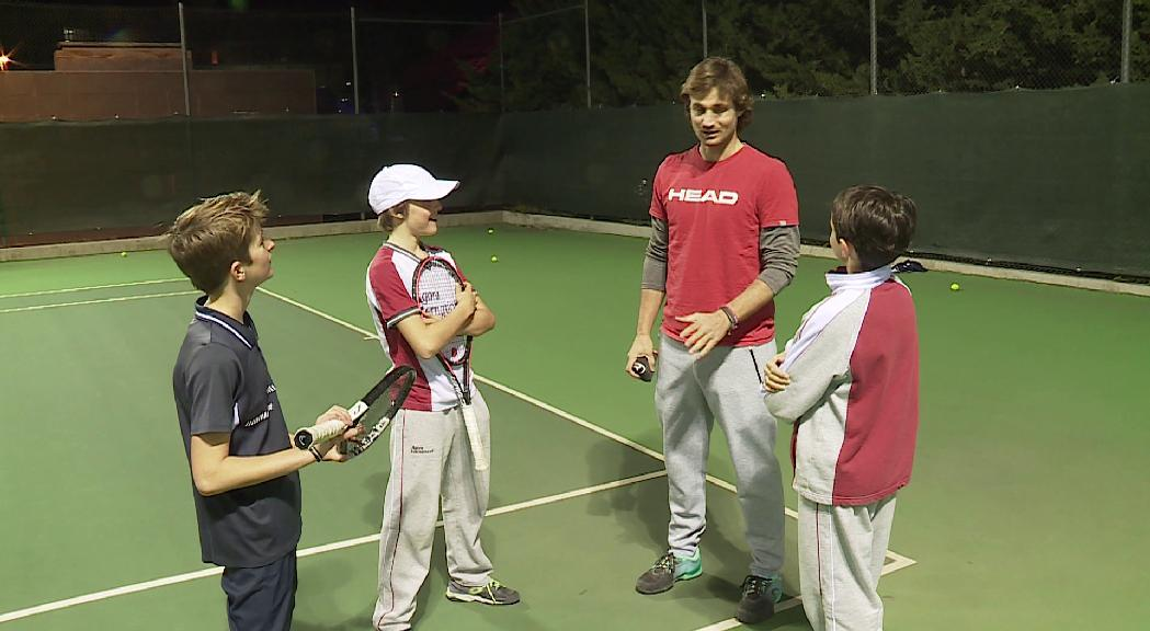 Andorra estarà representada a la Copa Davis aleví a Praga