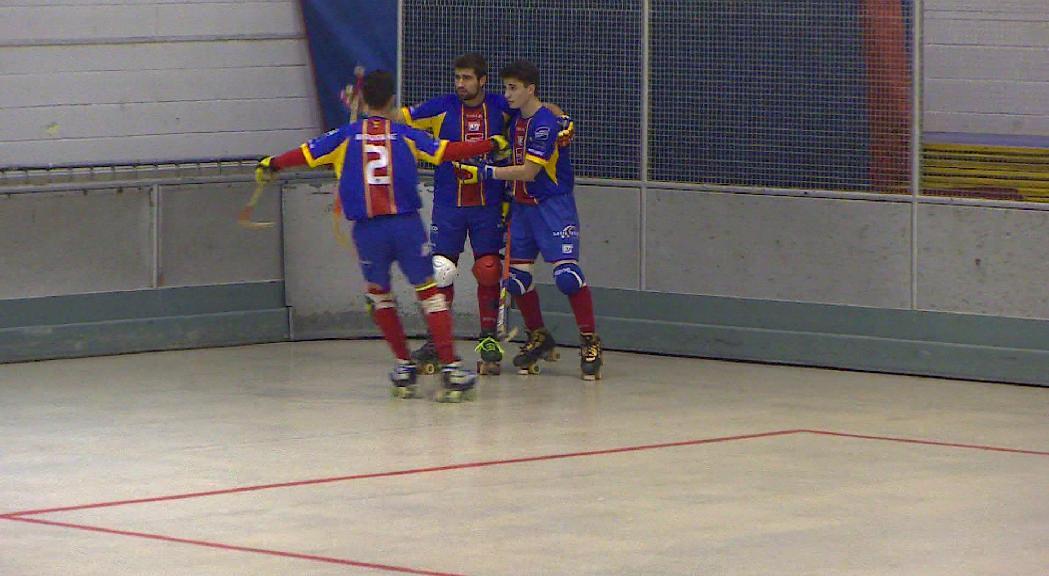 L'Andorra HC continua en caiguda lliure amb una nova derrota davant del Vendrell B (4-8)