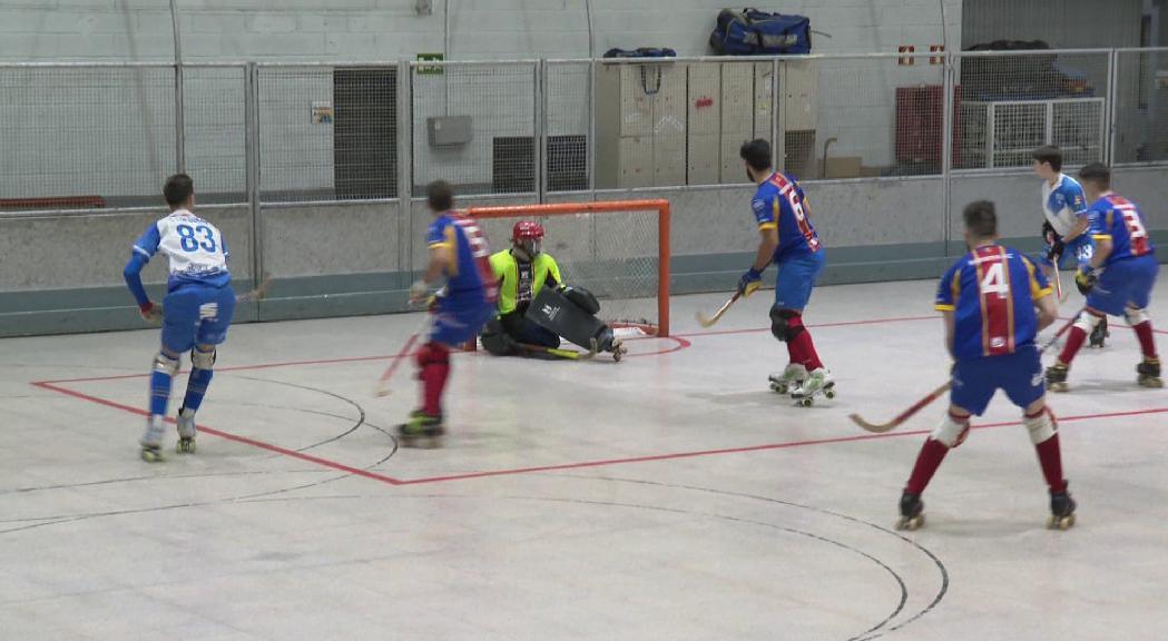 L'Andorra HC encaixa una nova derrota a casa contra el Lleida Llista B (1-4)