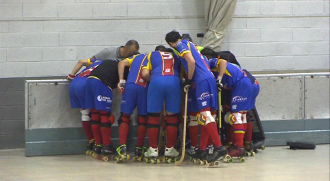 L'Andorra HC s'estrena amb una derrota contra el Monjos al Comunal (2-3)