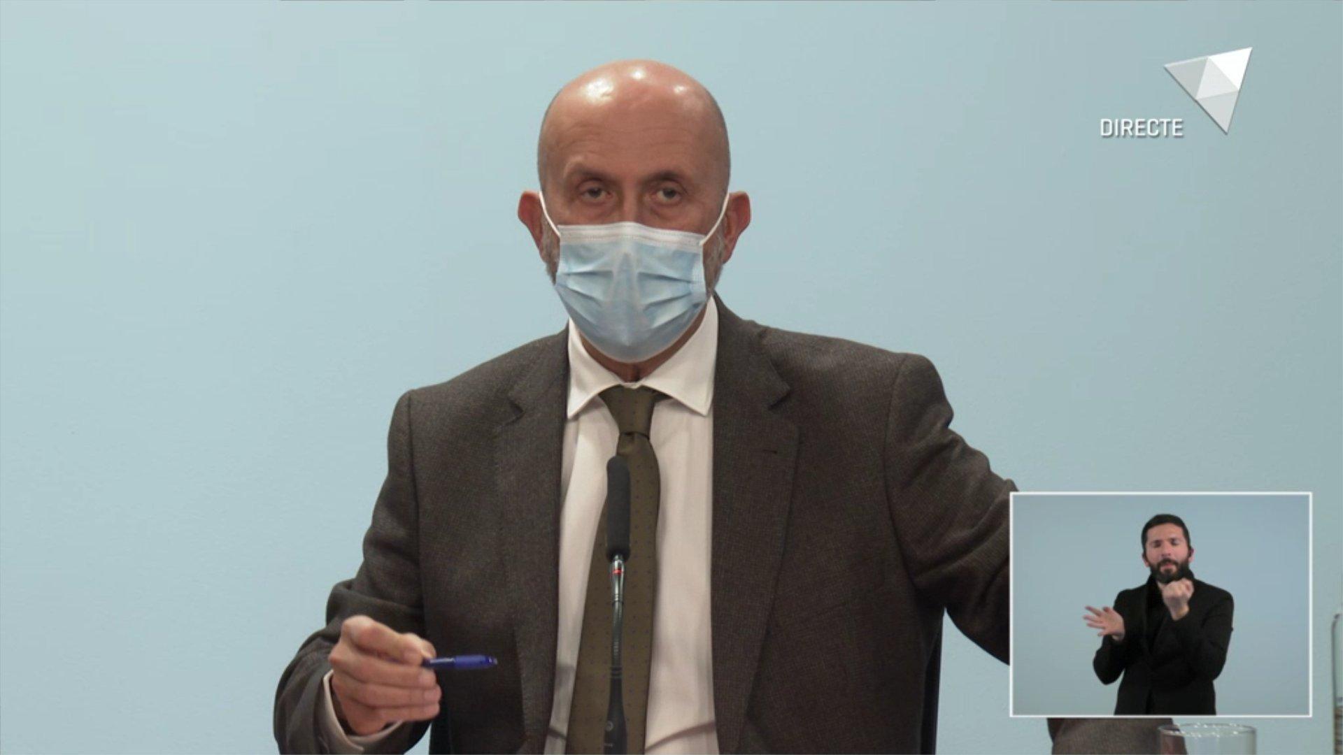 Andorra està a l'inici del nivell 4 de risc, el més alt de la pandèmia