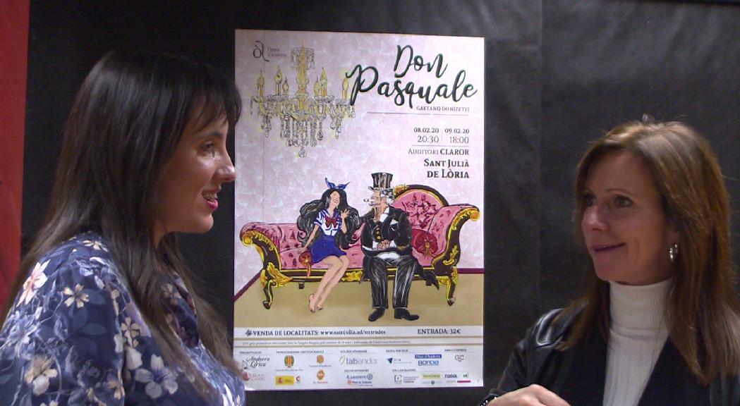 Andorra Lírica estrenarà 'Don Pasquale' al febrer