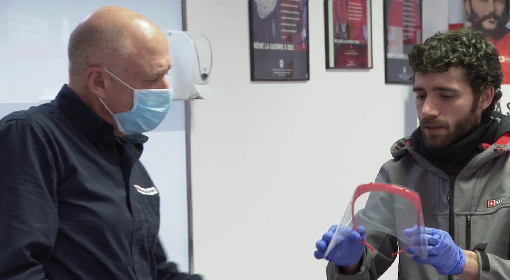 Andorra Makers atura la producció d'equips de protecció després de les declaracions del ministre de Salut