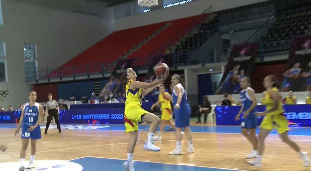 Andorra perd amb Xipre i acaba com a fanalet vermell l'Europeu de Petits Estats de bàsquet