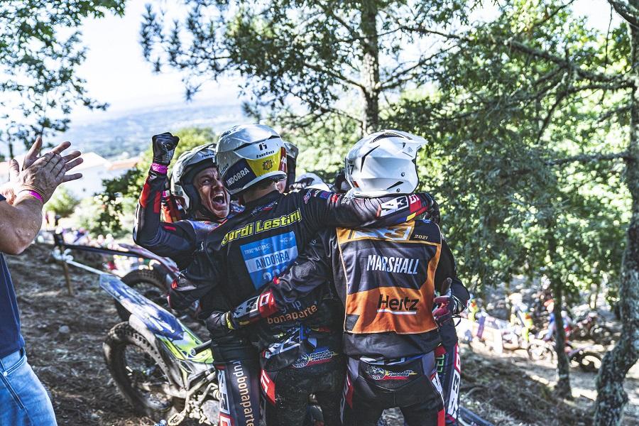 Andorra signa una excel·lent tercera posició en la categoria Internacional del Trial de les Nacions