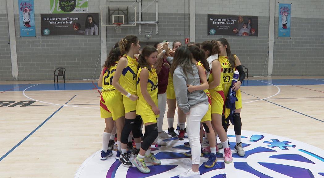 Andorra Sub-18 ho dona tot a la pista, però no pot evitar la darrera plaça a l'Europeu C de bàsquet